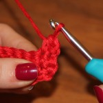 How to do a half double crochet