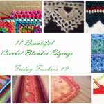 Friday Freebie's #9 Blanket Edgings