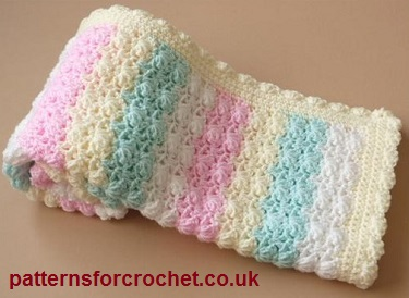Friday Freebie S 8 Sweet Striped Blankets Crochetier Com