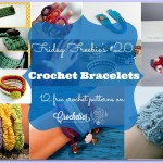 Friday Freebie's #20 - Crochet Bracelets