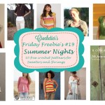 Friday Freebie's #19 Summer Night Sweaters & Shrugs