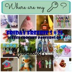 Friday Freebie's # 25 Keychains