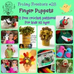 Friday Freebie's #28 Finger Puppets