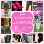 Friday Freebie's # 26 Legwarmers