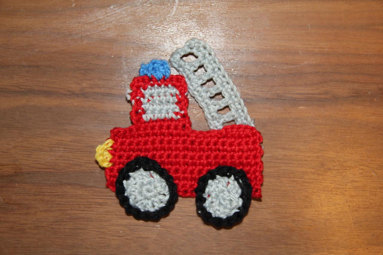Feuerwehrauto Deutsche Anleitung Crochetiercom