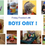 Friday Freebie's #6 Boys Only!