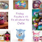 Friday Freebie's #3 Owls