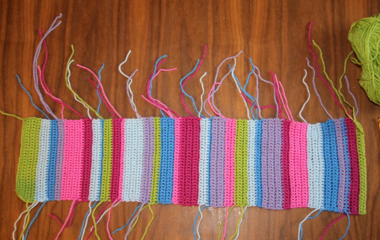 Türkranz Mit Schmetterlingen Step By Step Crochetiercom